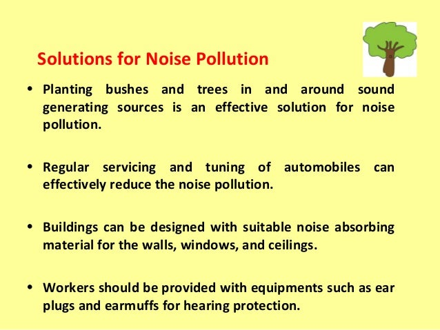 write an essay on noise pollution