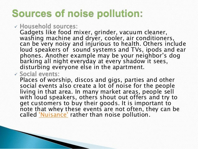 reaction about noise pollution Not every animal of a given species will react to noise in the same way  noise  pollution affects all kinds of animals, and insects are no.