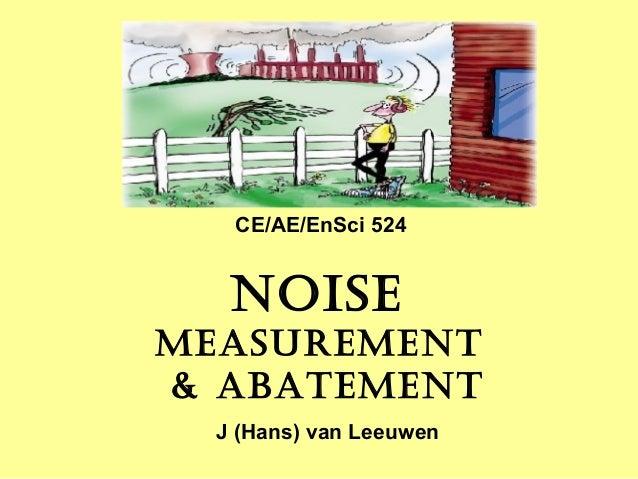 Noise pollution 2