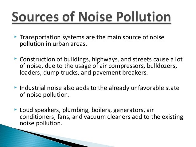 Noise pollution and solid waste management for How to reduce noise from windows