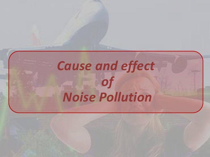 causes of noise pollution pdf