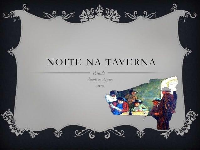 NOITE NA TAVERNA     Álvares de Azevedo           1878