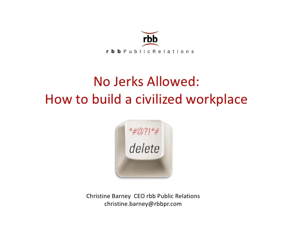 Advancement of assholes in the workplace