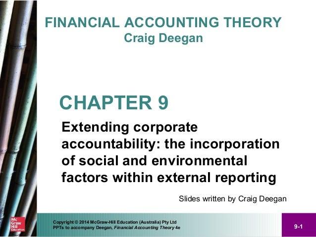 financial accounting theory craig deegan pdf