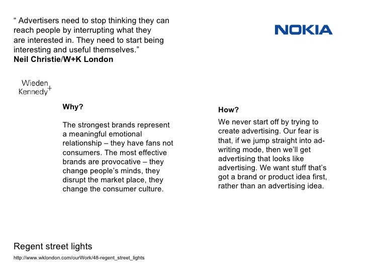 """""""  Advertisers need to stop thinking they can reach people by interrupting what they are interested in. They need to start..."""