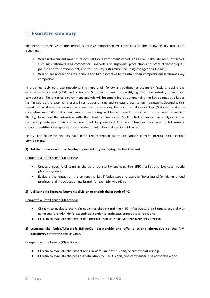 fall of nokia case study
