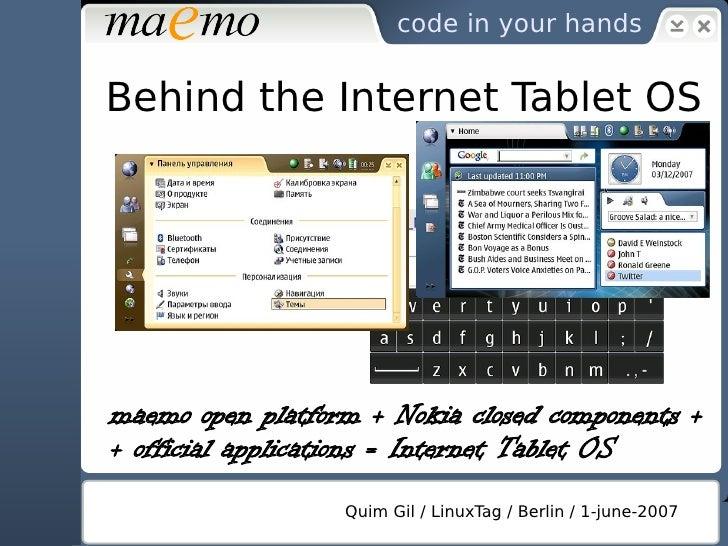 code in your hands   A development platform     Docs ●       Tutorials ●       Roadmap ●       Bug tracker ●       Lists ●...