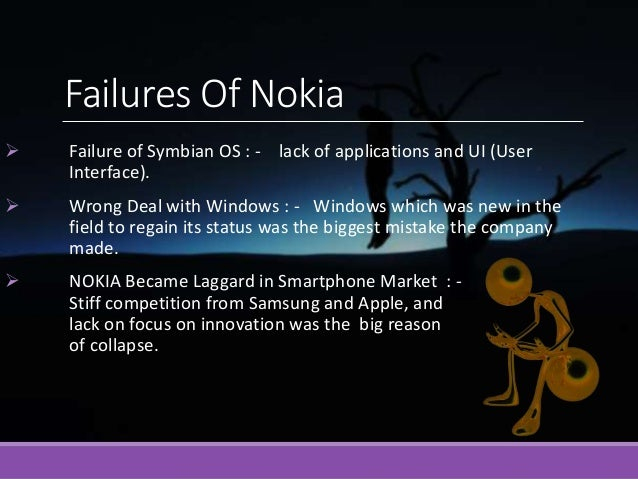 nokia analysis essays