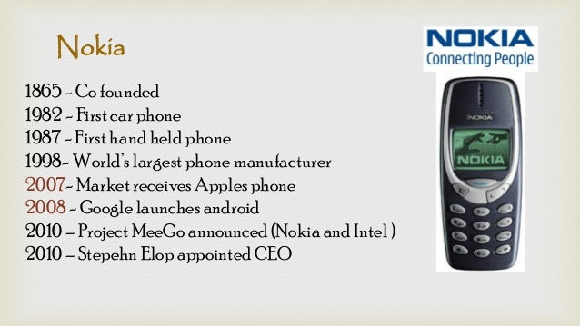 Nokia Case Study and History of Company - Make Digital Indian