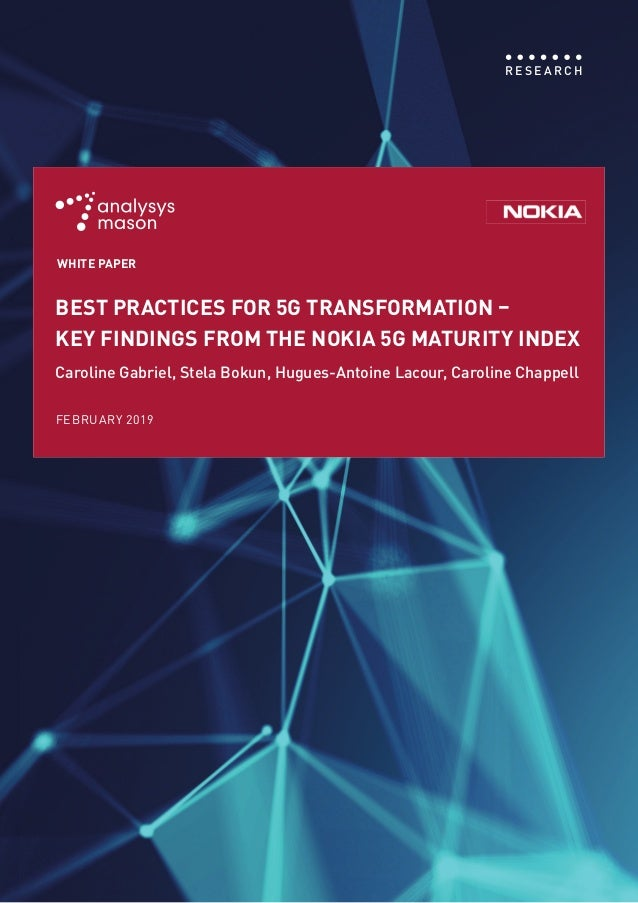 > UNLOCKING DIGITAL OPPORTUNITIES WITH 5G: A GCC OUTLOOK 1 R E S E A R C H FEBRUARY 2019 BEST PRACTICES FOR 5G TRANSFORMAT...