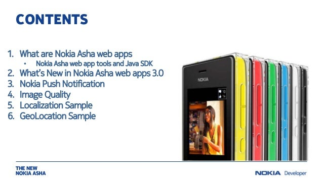 Nokia Asha webinar: Nokia Asha web app tools 3 0: New features, tips,…