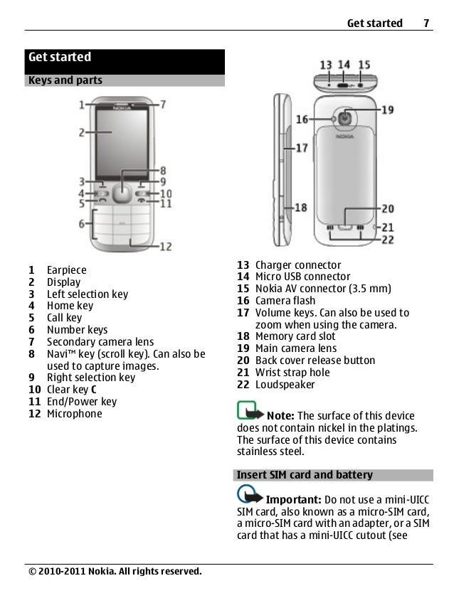 nokia c5 00 ug en rh slideshare net Nokia 6 nokia c5-00 user guide english