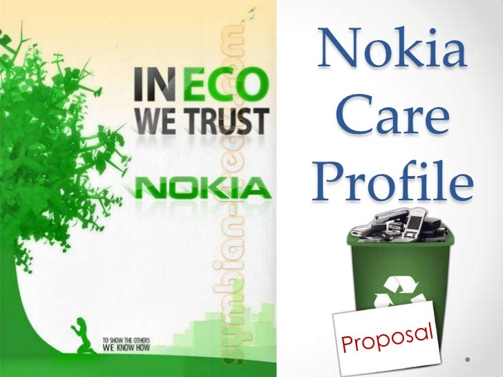 Nokia care profile