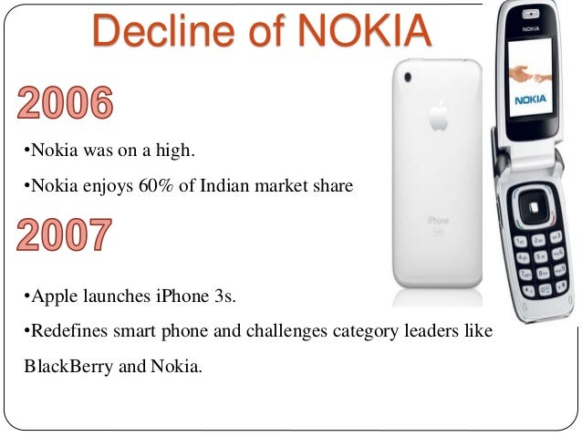 Nokia Beginning to End Story
