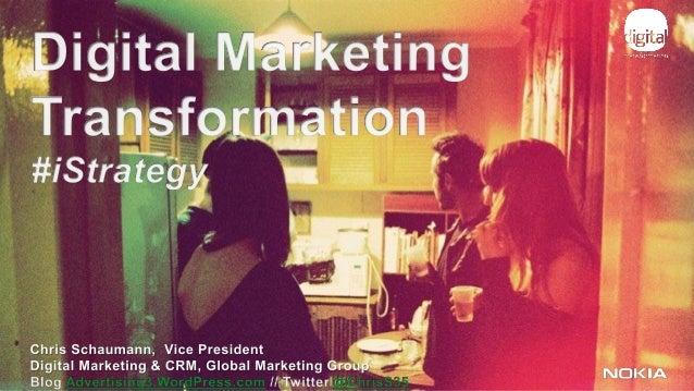 Agenda             1                Marketing Trends             2                Driving Change             3            ...