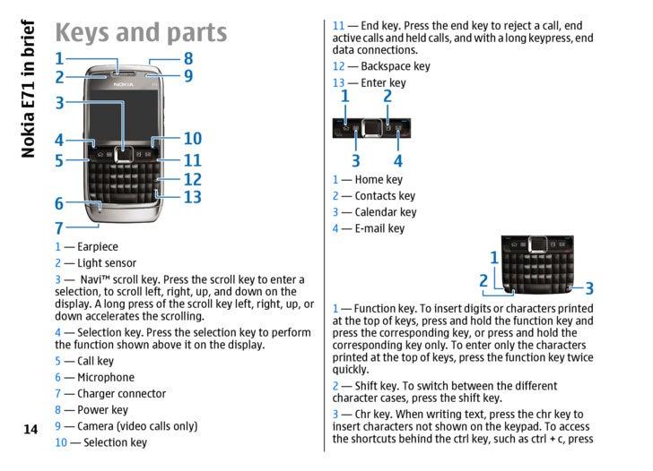 E71 nokia user manual