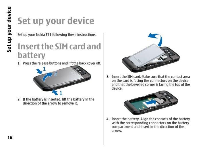 nokia e71 1 ug en rh slideshare net Nokia N95 Nokia E51