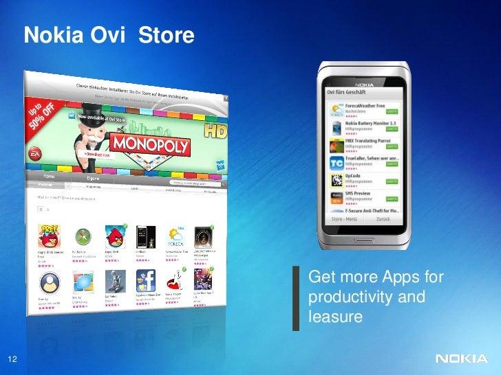 free  ovi store software for nokia e7