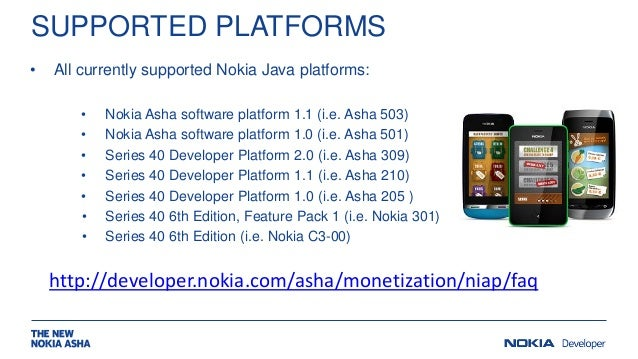 Nokia in app payments for Asha developers