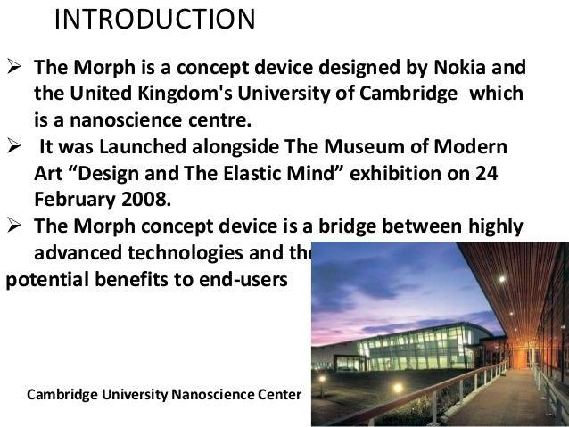 nokia the morph concept 25 févr 2008  à l'occasion de l'exposition « design and the elastic mind » qui a débuté hier au  musée d'art moderne (moma) de new york, nokia vient de.