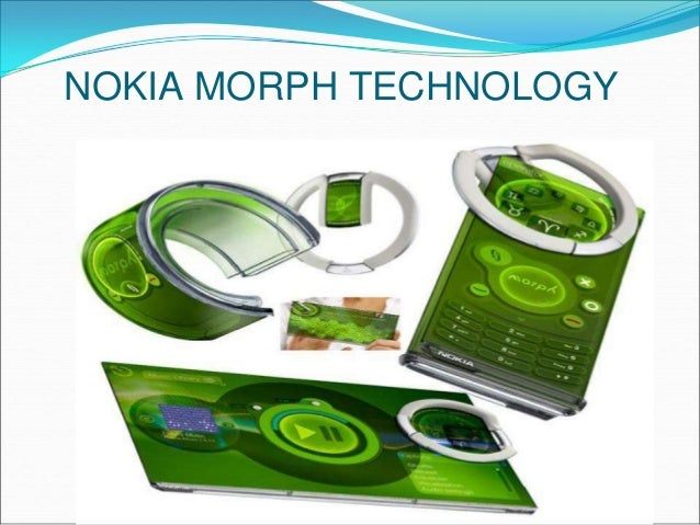NOKIA MORPH TECHNOLOGY EBOOK