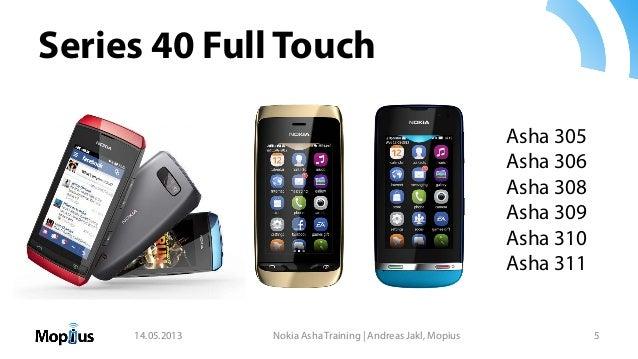 Nokia New Asha Platform Developer Training