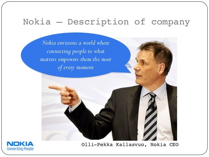 operational strategy of nokia Applications ui operating systems device design device manufacture  chipset design chipset manufacture vodafone market share nokia ntt  docomo.