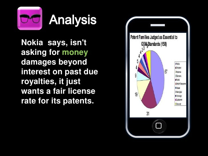 Nokia vs iphone Case Study and iPhone PPT template