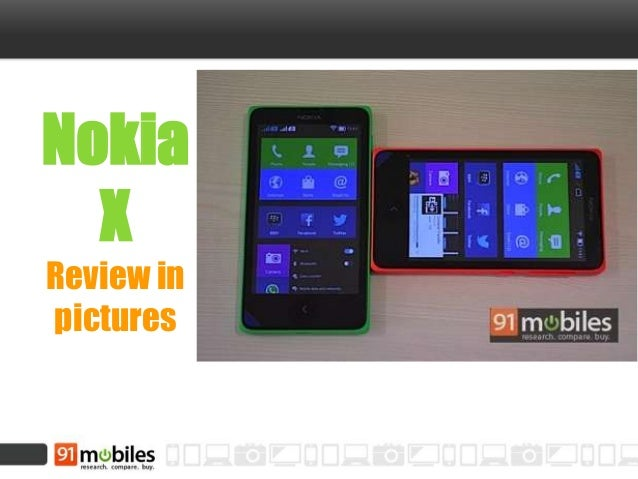 Nokia X Review in pictures