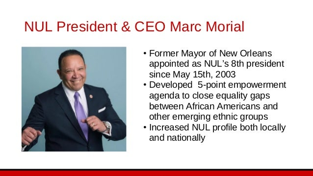 Urban League of Louisiana Leadership Erika McConduit President & CEO Cathy Washington Executive Vice President