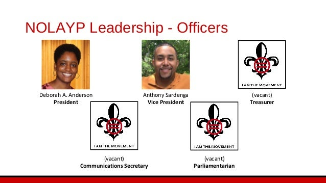Chapter Goals • Become the leading young professional organization in the Greater New Orleans area • Keep members first • ...