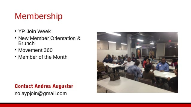 Professional Development • Well-Rounded Professional • Member Business Directory • Next Level Networking • YP Speakers Bur...
