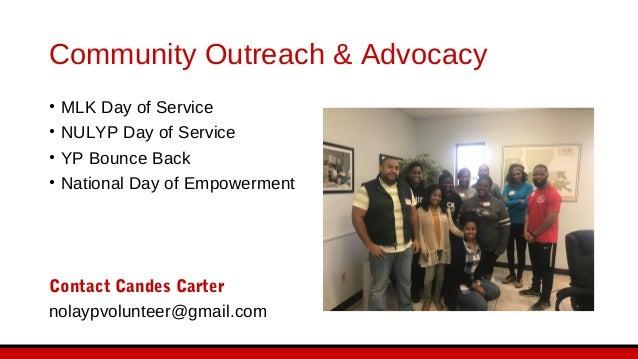 Fund Development • GiveNOLA • Urban League Gala • Sponsorships Contact Anthony Sardenga nolaypvp@gmail.com