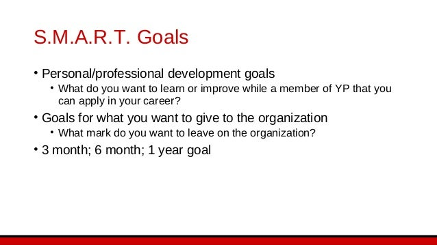 Creating S.M.A.R.T. Goals S.M.A.R.T. Goal (Review what you have written, and craft a new goal statement based on what the ...