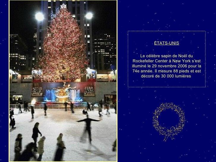 ÉTATS-UNIS Le célèbre sapin de Noël du Rockefeller Center à New York s'est illuminé le 29 novembre 2006 pour la 74e année....