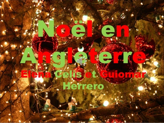Decoration Noel Angleterre