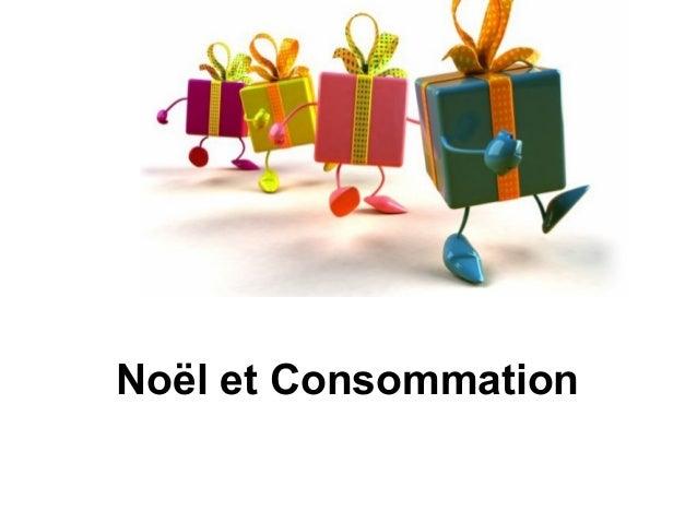 Noël et Consommation