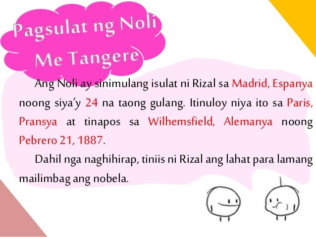 Life and Works of Rizal: Synopsis of
