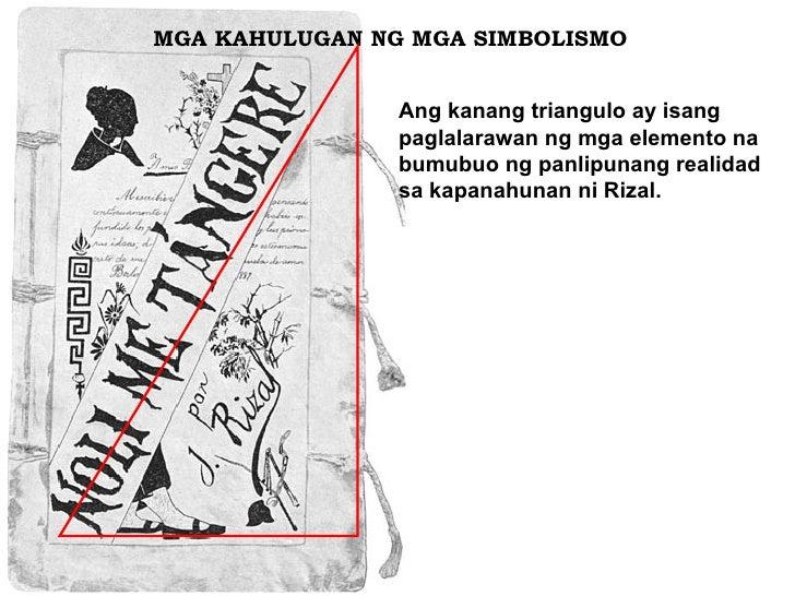 MGA KAHULUGAN NG MGA SIMBOLISMO  Ang kanang triangulo ay isang paglalarawan ng mga elemento na bumubuo ng panlipunang real...