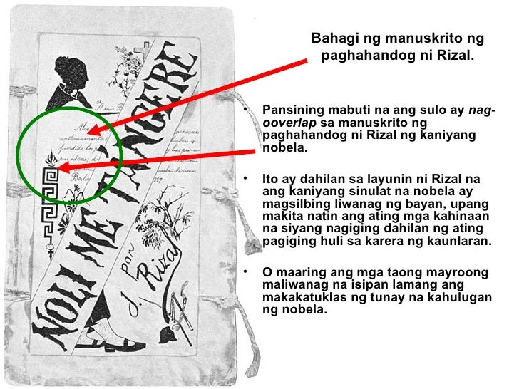 Pansining mabuti na ang sulo ay  nag-ooverlap  sa manuskrito ng paghahandog ni Rizal ng kaniyang nobela. Ito ay dahilan sa...