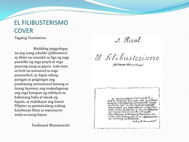 """impact of el filibusterismo on filipinos Ang buod ng """"el filibusterismo"""" i'm not a writer but i ang el filibusterismo ay isa sa mahahalagang akda ng panitikang filipino na pinag-aaralan ngayon."""