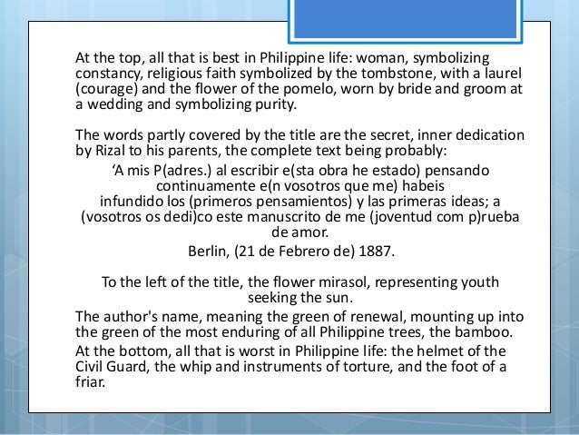noli me tangere chapter 15 summary