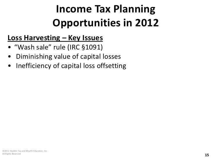 Bob Keebler Sample Presentation - Income & Estate Tax ...