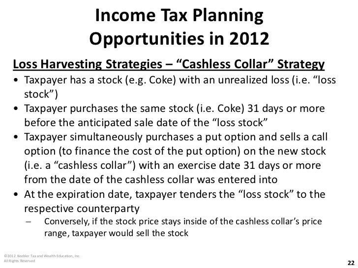 Cashless exercise of stock options tax