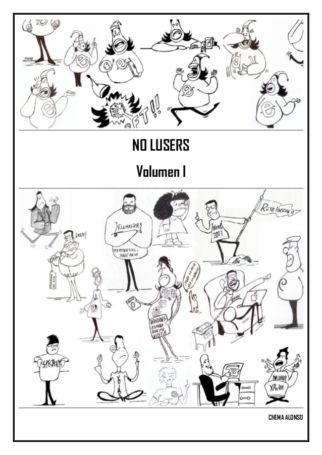 NO LUSERS Volumen I CHEMA ALONSO