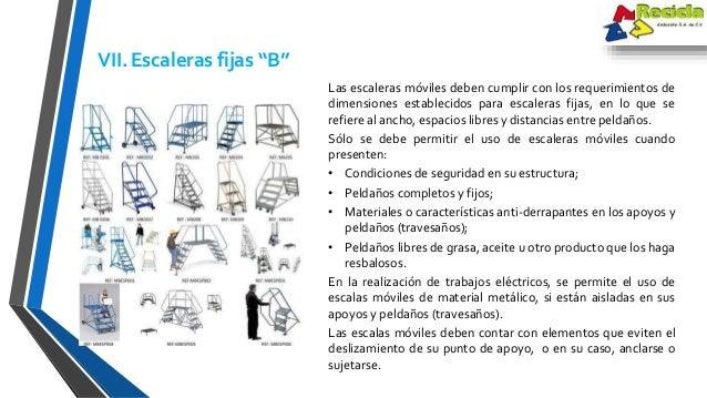 Nom 001 stps for Escaleras nom 001