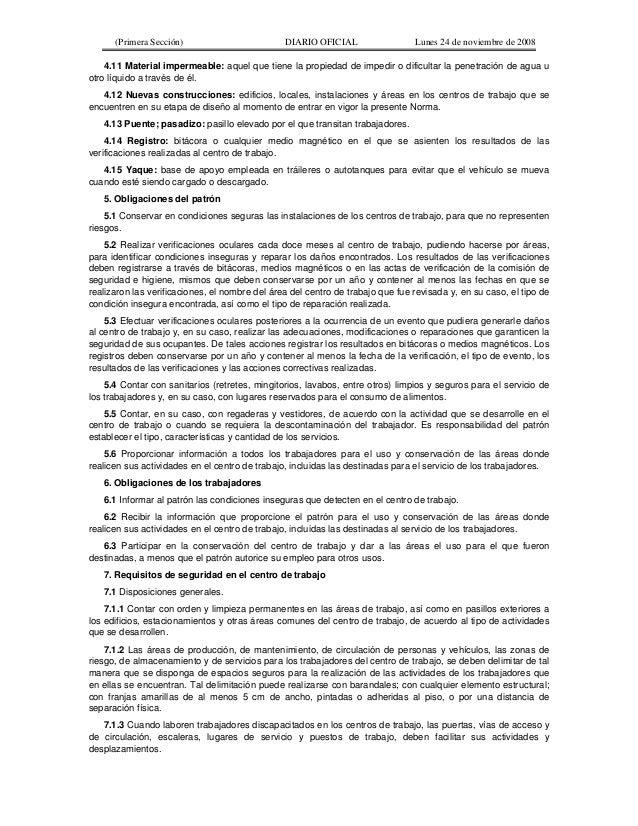 Nom 001 stps 2008 condiciones de seguridad edificios for Escaleras nom 001