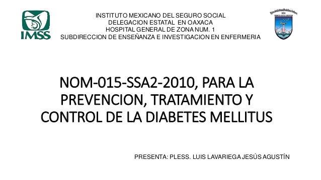 Nom 015-ssa2-2010