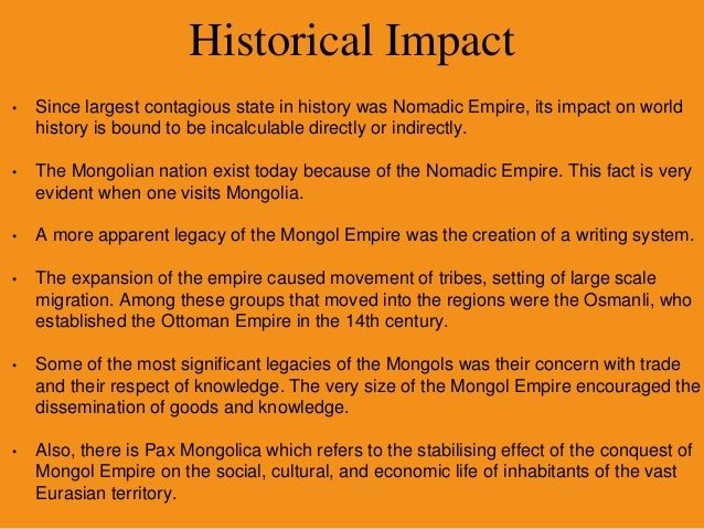 how did mongol expansion and islam effect each other The teachings of islam: mohammed did not leave behind a  most about islam taught other  in eastern expansion, so the spread of islam in.