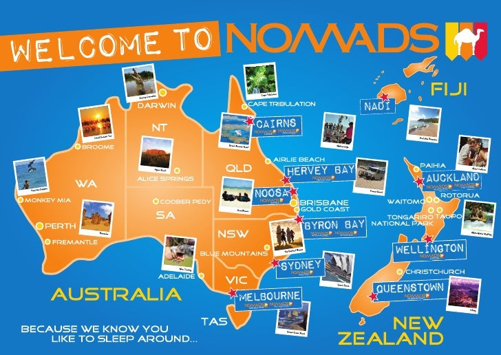 Nomads Accommodation map (inside brochure)   low res